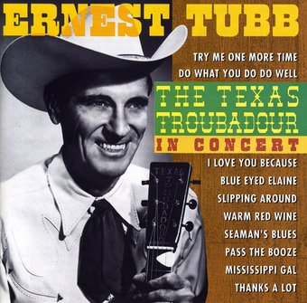 Texas Troubadour: In Concert (Live)