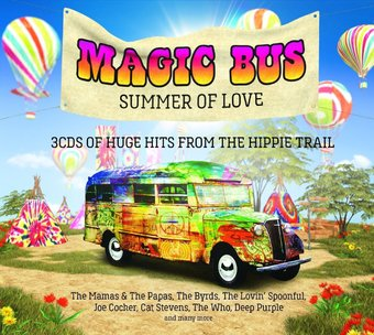 Magic Bus Summer Of Love 3 Cd 2016 Imports Oldies Com