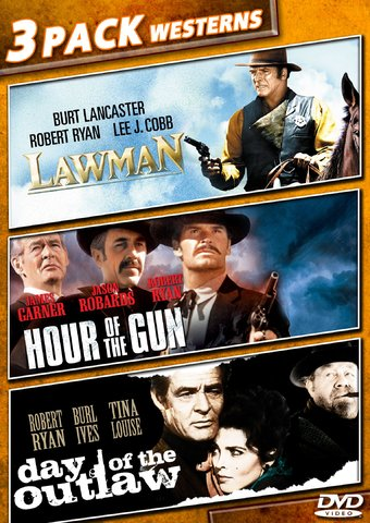 3 Pack Westerns: Lawman / Hour of the Gun / Day