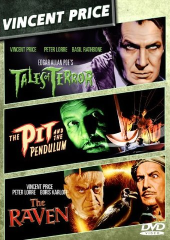 Vincent Price Triple Feature Tales Of Terror The Pit