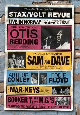 Stax Records - Stax / Volt Revue: Live in Norway,