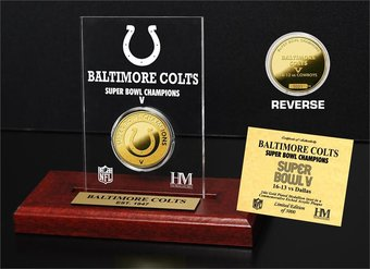 Football - Baltimore Colts - Super Bowl Champs