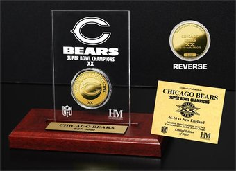 Football - Chicago Bears - Super Bowl Champs