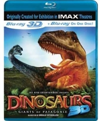 Dinosaurs 3D: Giants of Patagonia (Blu-ray, 3D)