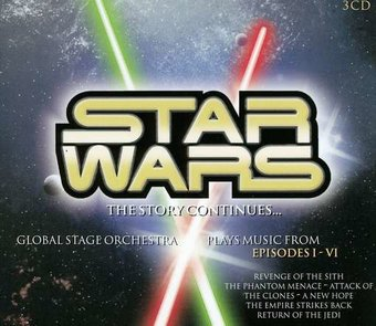 Star Wars: The Story Continues... (3-CD)