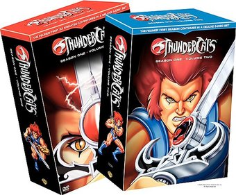 Thundercats - Season 1, Volume 1 & 2 (12-DVD)