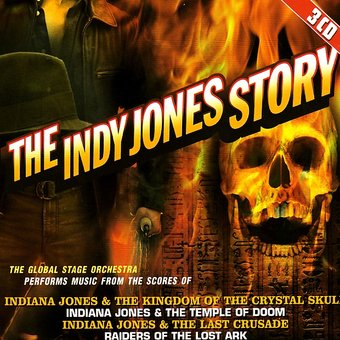 The Indy Jones Story: Original Soundtrack (3-CD)