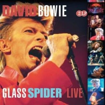 Glass Spider Live (2-LPs-180GV) (EU Import)
