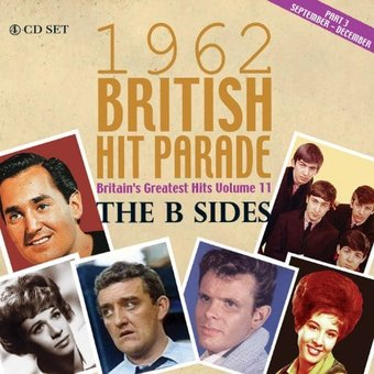 British Hit Parade: 1962 - B-Sides, Part 3 (4-CD)