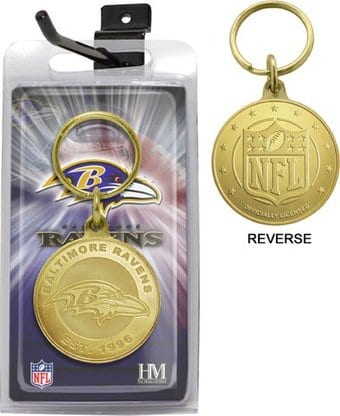 Football - Baltimore Ravens Bronze Bullion
