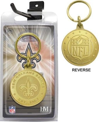 Football - New Orlean Saints Bronze Bullion
