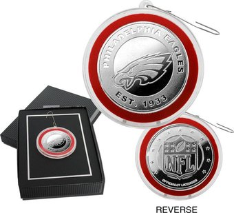 Football - Philadelphia Eagles Silver Coin