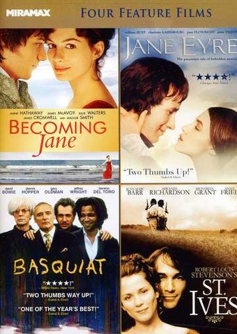 Becoming Jane / Jane Eyre / Basquiat / St. Ives