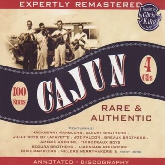 Cajun: Rare & Authentic (4-CD)