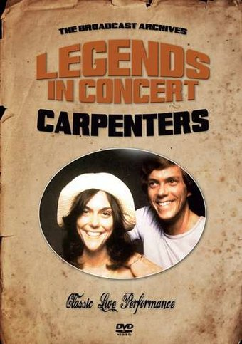 The Carpenters Live In Concert Dvd 2015 Starring The