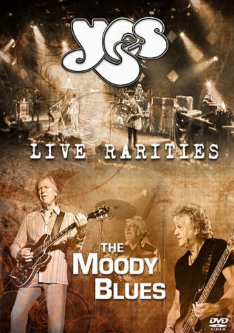 Yes & The Moody Blues - Live Rarities: Rare TV