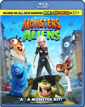 Monsters vs. Aliens (Blu-ray)