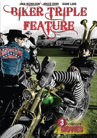 Biker Triple Feature (The Rebel Rousers / The