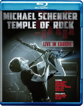 Temple of Rock: Live in Europe (Blu-ray)
