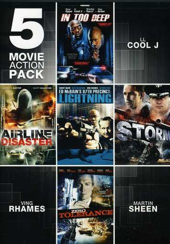 5 Movie Action Pack, Volume 3