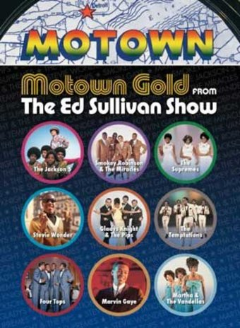 Motown Gold from The Ed Sullivan Show (2-DVD)