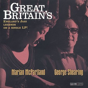Great Britain's Marian McPartland & George