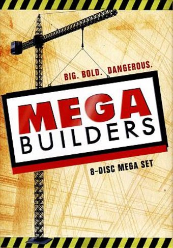 Mega Builders: 34 Episode Collection (8-DVD)