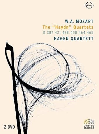 "Mozart - The ""Haydn"" Quartets (2-DVD)"