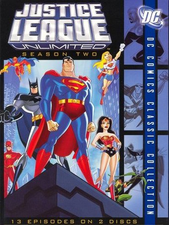 Justice League Unlimited - Complete 2nd Season