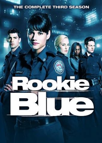 Rookie Blue - Complete 3rd Season (4-DVD)