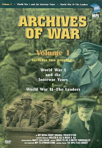 Archives of War - World War I and the Interwar