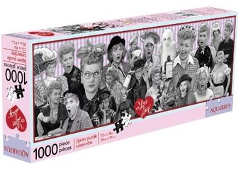 I Love Lucy - Collage - 1000-Pice Slim Puzzle