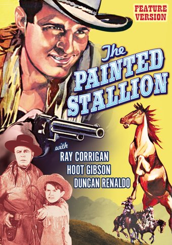 "The Painted Stallion - 11"" x 17"" Poster"