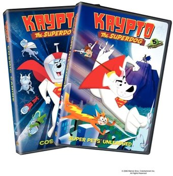Krypto the Superdog - Volumes 1 & 2 (2-DVD)