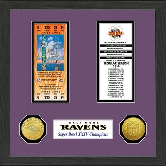 Baltimore Ravens - Super Bowl Championship Ticket