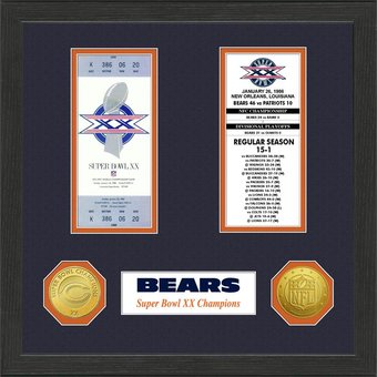 Chicago Bears - Super Bowl Championship Ticket