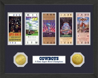 Dallas Cowboys - Super Bowl Championship Ticket