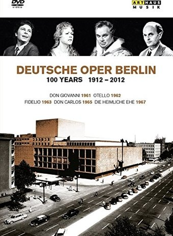 Deutsche Oper Berlin: 100 Years 1912-2012 (6-DVD)