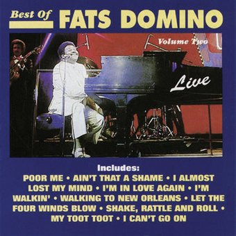The Best of Fats Domino Live, Volume 2