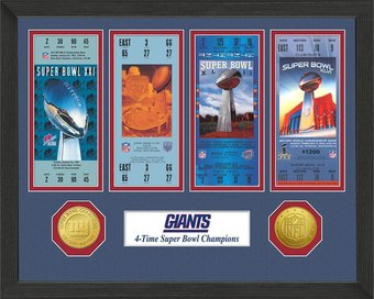New York Giants - Super Bowl Championship Ticket