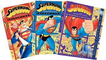 Superman - Animated Series - Volumes 1-3 Bundle