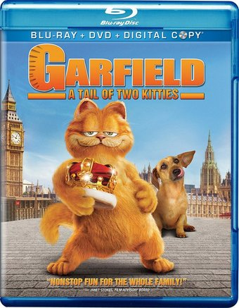 Garfield: A Tail of Two Kitties (Blu-ray + DVD)