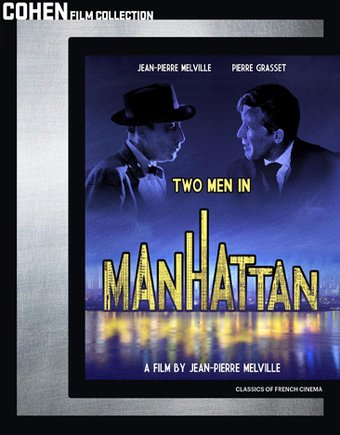 Two Men in Manhattan (Blu-ray)
