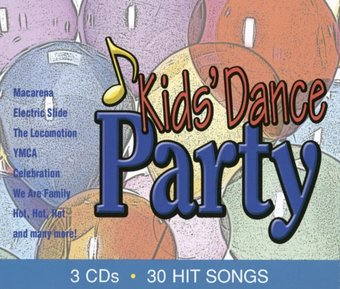 Kids' Dance Party (3-CD)