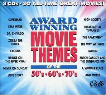 Award Winning Movie Themes of the 50's, 60's &