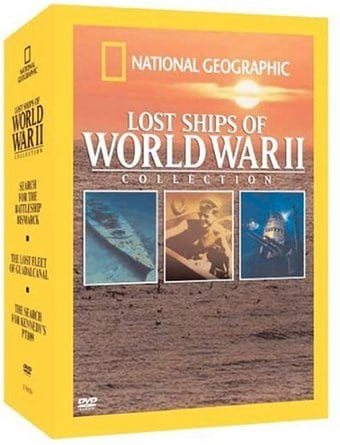 Mysteries of the Deep: Lost Ships of WWII (3-DVD)