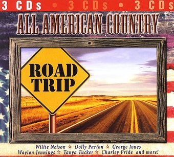 All American Country - Road Trip (3-CD)