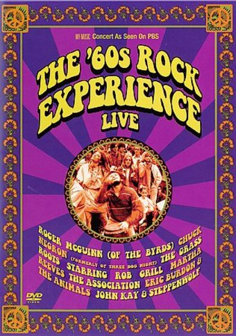 Various Artists - The '60s Rock Experience Live