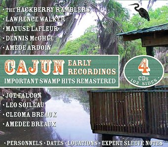 Cajun Early Recordings (4-CD)