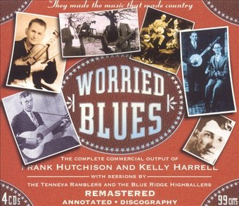 Worried Blues (4-CD)
